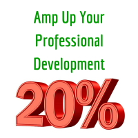 AMP Your Professional Development By 20%