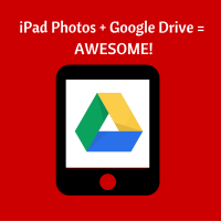 iPad Full of Photos? Send Them to Google Drive!